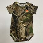 NEW 3-6 mo Auburn Tigers Creeper Romper Infant Baby Toddler Shirt Camo Realtree