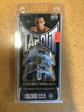 Tapout Youth Mouthguard Ages 5-11yrs Silver/Black