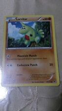 Larvitar Pokemon Card COMMON [FATES COLLIDE]