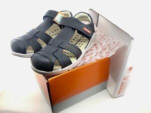 BIOMECANICS Closed Toe Blue Sandals // NEW with box