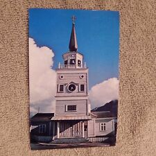 Vintage Postcard St. Michael's Russian Orthodox, Cathedral, Sitka, Alaska