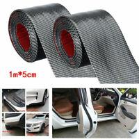 2 Stück 5cm*1m Einstiegsleisten Auto Schutzleisten Door Sill Plate Bumper Schutz