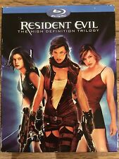 Resident Evil: The High-Definition Trilogy (Blu-ray Disc, 2008, 3-Disc Set)