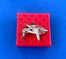 Shark Pin Lapel Pin Great White Shark Pin/Hat Pin/Bag Pin (New)