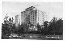 RPPC, Regina Canada      HOTEL SASKATCHEWAN      Real Photo Postcard