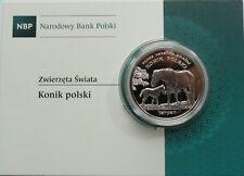 20 ZL ZLOTYCH POLAND POLEN 2014  POLISH HORSE KONIK TARPAN