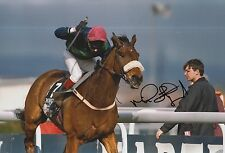 Mick Fitzgerald Hand Signed 12x8 Photo Rough Quest Grand National 1996.