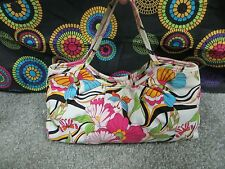 Icing by Claire's Multi-Color Floral Design Handbag