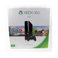 MICROSOFT GAME CONSOLE XBOX 360 E 4GB SLIM CASE WI-FI CONTROLLER NEW L9V-00056
