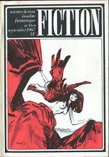 Revue Fiction N°166 - Spinrad, Aldani, Walther... - septembre 1967