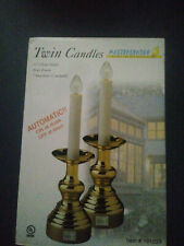 Holmes, New In Package, Twin Gold-Tone Electronic Candles, Candle, VERY RARE