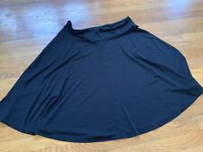 East 5th Jcp Black Jersey A Line Skirt Xl