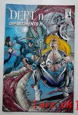 DEPT H  DIPARTIMENTO H New Bred Comics 1995 Allegato Nuova Collana Liberty 1997
