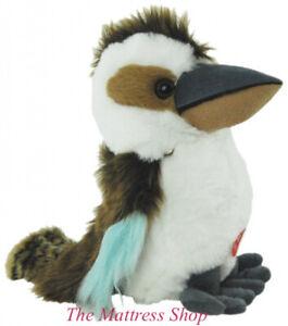 "~❤️~KOOKABURRA with sound ELKA 25cms 10"" Soft Toy Australian Native bird~❤️~"