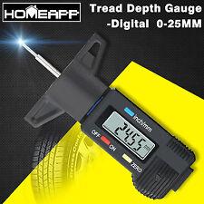 Car Digital Depth Measure Gauge Tyre Tread Brake Pad Shoe Caliper LCD Display AU