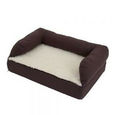 Best Orthopaedic Dog Bed Large Brown Beige Memory Foam Dog Bed Senior Dogs Gift