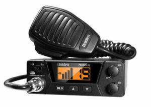 Uniden PRO505XL Bearcat 40 Channel Mobile CB Radio Compact Black 4 Watts PA NEW