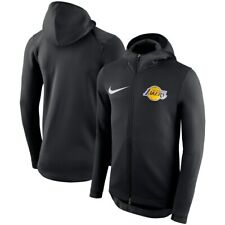 Nike NBA 2018-2019 Los Angeles Lakers Therma Flex Showtime On Court Bench Hoodie