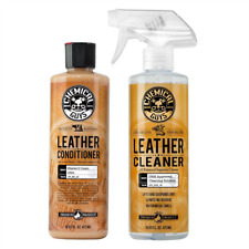 Leather Cleaner & Conditioner Complete Leather Care Kit 16 Oz 2 Pc