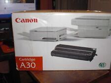 Canon A30 Cartridge Genuine Black Noir Toner F41-4102-730 OEM NIB