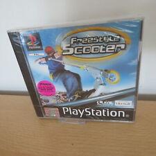 NEU & VERSIEGELT PLAYSTATION 1-Freestyle Scooter-PAL Version PS1