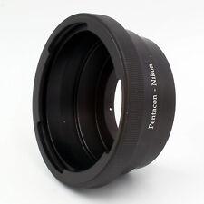 Adapter For Pentacon 6 Kiev 60 Lens to Nikon F Mount Camera D750 D810 D3300