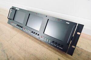 "Marshall V-R53P Three 5"" Video Monitor (church owned) CG00B7T"