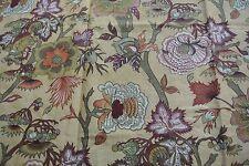 1 metre Northcroft 'Jaipur' Cotton/Linen Fabric - RRP £56 per metre