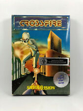 CROSSFIRE by SierraVision for Atari 400/800/XL/XE - boxed!
