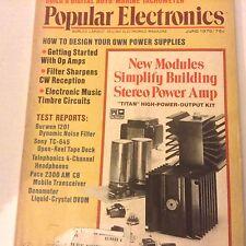 Popular Electronics Magazine New Modules Simplify June 1975 071917nonrh