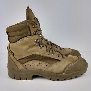 Bates Men's E03612B Vibram Olive Mojave Combat Hiker Brown Boots Size 11.5
