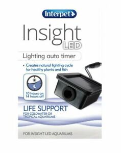 INTERPET INSIGHT LED LIGHTING TIMER NATURAL LIGHT CYCLE HEALTHY PLANT FISH TANK