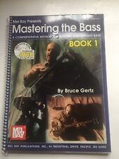 Mastering The Bass Spiral Method Book by Bruce Gertz with 2 Cd'S 180 Pages