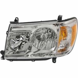 FIT TOYOTA LAND CRUISER 2006-2007 LEFT DRIVER HEADLIGHT HEAD LIGHT FRONT LAMP