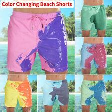 Men's Swim Shorts Swimwear Swim Trunks Color-changing Board Shorts Bathing Suit