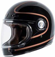 Torc T1 Helmet Retro Vintage Style Fiberglass DOT Approved size Large