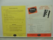 1960s Wiseco Motorcycle Piston Catalog Order Form Price List Yamaha Suzuki L9212