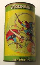"SPIDER-MAN & MIGHTY THOR 12"" JIGSAW PUZZLE 75 Pc RARE MIB Marvel 1974"