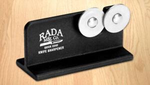 RADA CUTLERY R119 QUICK EDGE KNIFE SHARPENER MADE IN USA