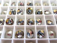 6 Crystal Stormy Swarovski Crystal Chaton Stone 1088 39ss 8mm Chatons