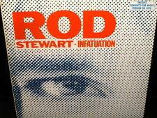 """12"""" MAXI SINGLE ROD STEWART infatuation SPAIN 1984 tonight's the night VINYL"""