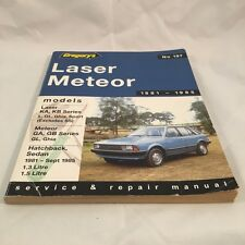 FORD LASER METEOR 1981 - 1985, Gregory's Automotive Manual No 197 (C113)