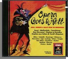 Opera Goes to Hell - Arias, Choruses & Ballet From The Underworld - New 1990 CD!