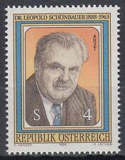 Österreich Austria 1988 ** Mi.1941 Schönbauer Arzt Doctor Medizin Medicine