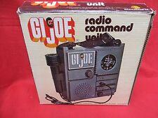 1964 VINTAGE GI JOE JOEZETA :1975 CHILD SIZE ADVENTURE TEAM RADIO WITH BOX