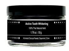 100% Organic Activated Bamboo Charcoal Powder Teeth Whitening Toothpaste Halal