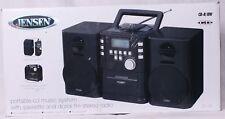 Jensen CD-725 Portable CD Music System w/Cassette & Digital  FM Stereo Radio