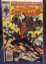 The Amazing Spider-Man Comic Book #322, Vol 1, 3/6-Featuring Silver Sable! 1989