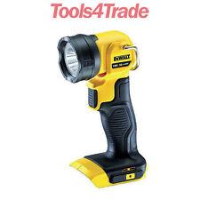 Dewalt DCL040N 18V XR Li-ion LED Pivot Light Torch Naked Body Only DCL040