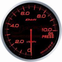 Defi Link Meter ADVANCE BF Oil Pressure Gauge Amber Red Face 60mm DF10202